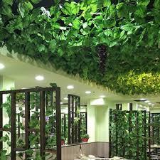 artificial hanging plant fake leaf vine