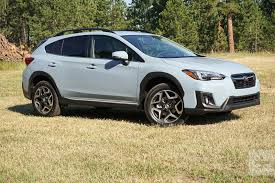 2018 subaru. unique 2018 2018 subaru crosstrek first drive  left for subaru