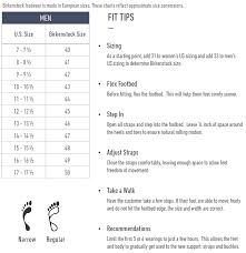 Birkenstock Unisex Size Chart Ramses Birko Flor Thong Sandal