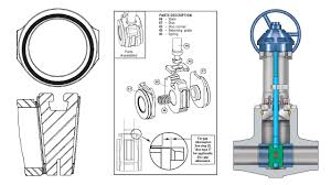 Ball Valve Seat Design Calculations Wedge Gate And Parallel Gate In Gate Valve Design Design Tips 6