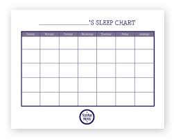 Sleep Chart Template Sleeperhero Sleep Chart Printable Kids Sleep Sleep Help