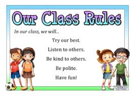 Our Class Rules Teaching Ideas