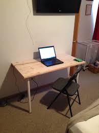 Fold Down Wall Desk How To Build Mounted Table Bills Photo Jpg Uk Hinges
