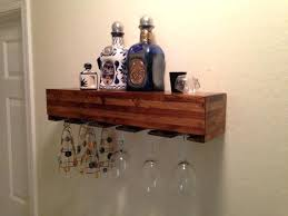 wine glass rack pottery barn. Wine Glass Shelf Natural Rack Gloss Holder Pottery Barn G