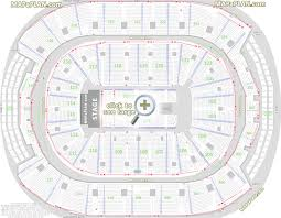 Toronto Maple Leafs Interactive Seating Chart Toronto Air Canada Centre Seat Row Numbers Detailed