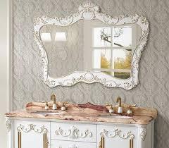 antique white bathroom vanity mirrors thedancingpa com pictures antique vanity mirrors for