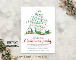 printable christmas invitations printable christmas party invitation military bralicious co