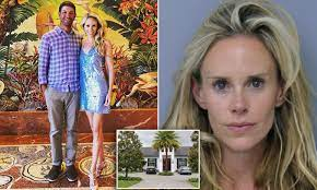 Lucas Glover and his wife are living ...