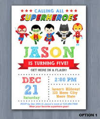 superheroes party invites superhero birthday invitations dhavalthakur com