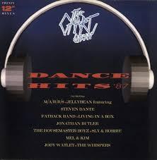 Various Pop The Chart Show Dance Hits 87 Uk 2 Lp Vinyl Record Set Double Album
