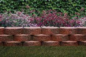 basalite terrace wall red charcoal