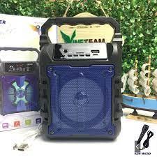 Loa Bluetooth Kẹo Kéo Karaoke Bluetooth Mini MH-33bt - Tiện lợi - Âm to -  Cực đã - loa không dây giá rẻ - hát karaoke Tại Nhà - Micro