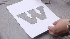 Chart Correction Stencil How To Stencil Print 13 Steps With Pictures Wikihow
