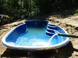 fill fiberglass pool with water muskego wi