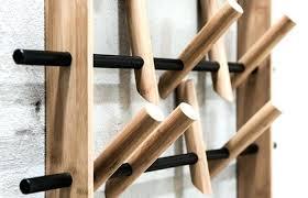 wall coat hanger easy ideas rack hooks ikea