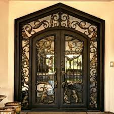 wrought iron front doorsIron Entry Doors  Wrought Iron Doors  Steel Door  Phoenix