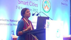 Smt Priyanka Das Madam, ED, BSCDCL at Exposure Cum Training Programme,  Smart Cities 7th Nov'17 - YouTube