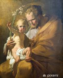 st joseph paint from vienna church vinyl wall mural themes