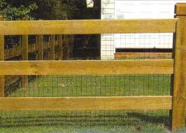 wire farm fence. Farm Fence 3 Board Wire Included