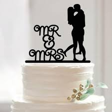 Wedding Cake Topper Cake Decorating Acrylic Custom Romance Cake Topper Custom Birthday Cake Topper Mr Mrs Wedding Cake Topper