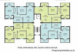 ... Floor Plans Apartments Decoration Luxury 4 Bedroom Apartment Floor Plans  With Park ...