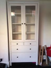 ikea hemnes cabinet with panel glass door cabinet designs