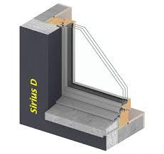 Holzmetallfenster Sirius D