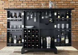home mini bar furniture. Bar At Home Furniture Portable Black Cabinet With Wine Storage And Under Glass Holder In Mini For Uk A
