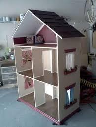 handmade doll houses | The Alyssa - Handmade Doll House for 18 Inch Dolls  (American