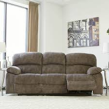 ashley power recliner sofa. Ashley Cannelton Power Reclining Sofa With Adjusting Headrest Recliner