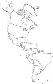 North And South America Blank Map Blank North And South America Map Magdalene Project Org