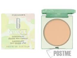 clinique superpowder double face makeup 07 matte neutral tør kombinationshud