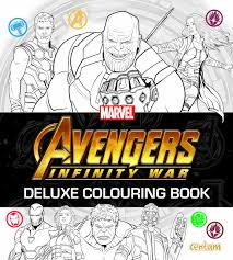 Avengers Infinity War Deluxe Colouring Book Amazoncouk Centum