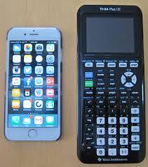 ti 84 plus ce compared to apple iphone 6