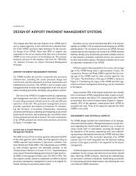 Airport Apron Pavement Design Chapter Two Design Of Airport Pavement Management Systems