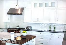 how to finish butcher block countertop black white kitchens with wood and butcher blocks finishing maple