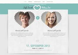 Free Wedding Website Templates Best Free Wedding Invitation Website Templates Socialgeistnet