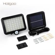 Holigoo Solar Power 56 Led Solar Light Outdoor Led Garden Lights Garden Lights Led Solar