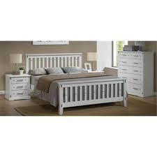 Single Bedroom Suite Eliza Single Tallboy Suite Hardwood White Single Bed Dixie