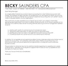 actuary resume cover letters trainee accountant cover letter sample livecareer