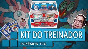 UNBOXING DO KIT DO TREINADOR XY - Pokémon Trading Card Game - YouTube