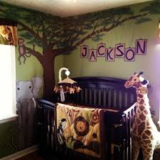 Safari Bedroom Decor Want To Paint A Jungle Tree In Jerms Room With Branches Going Over