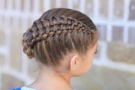 How to Create a Zipper Braid | Updo Hairstyles | Cute Girls Hairstyles