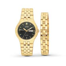kay citizen men s watch boxed set bracelet hover to zoom