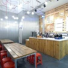 corrugated steel wall panels metal covering garage contemporary walls model menards