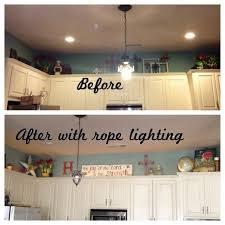 above kitchen cabinet lighting. Above Kitchen Cabinet Lighting Lovely Rope Cabinets Of Luxury White D
