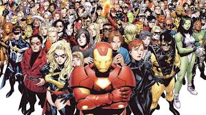marvel ics characters hd desktop wallpaper dual monitor