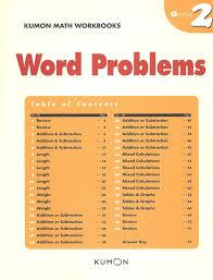 Kumon Standard Completion Time Chart Math Kumon Word Problems Grade 2