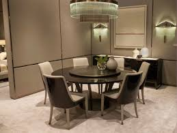 round table with lazy susan dining room gallery
