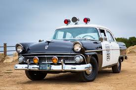 Grab a Dozen Donuts in this Original '55 Ford Police Car | Ford ...